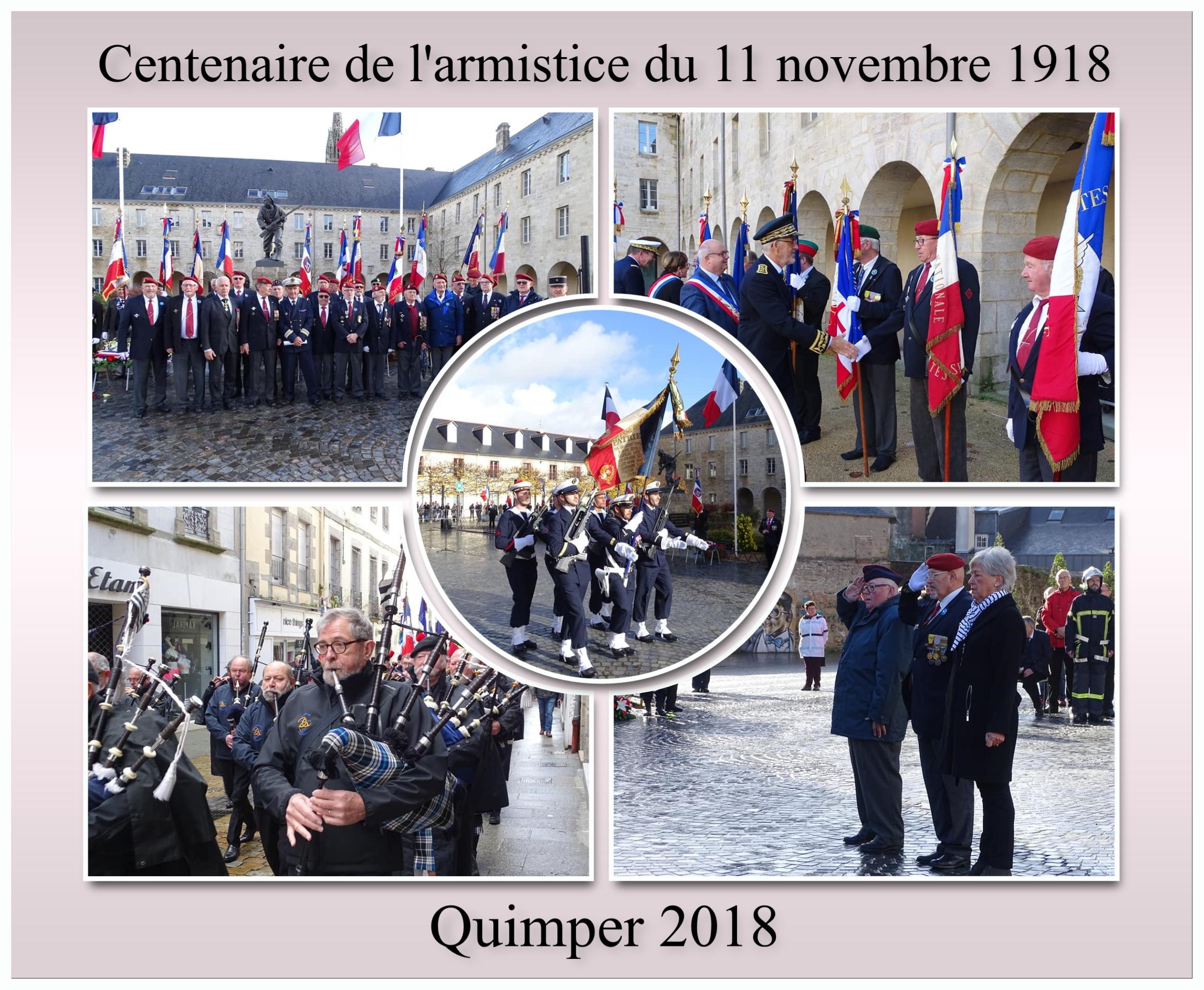 Quimper 11 novembre 2018