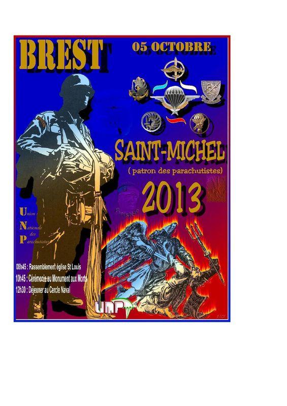 Affiche St Michel 2013