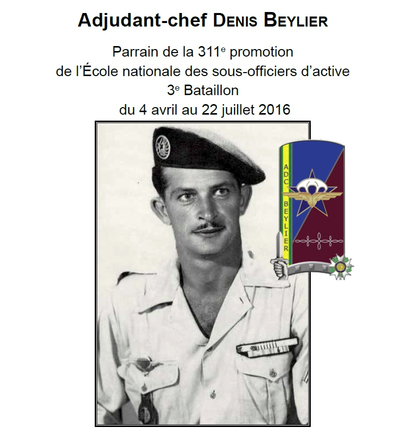 ADC BEYLIER promotion 311