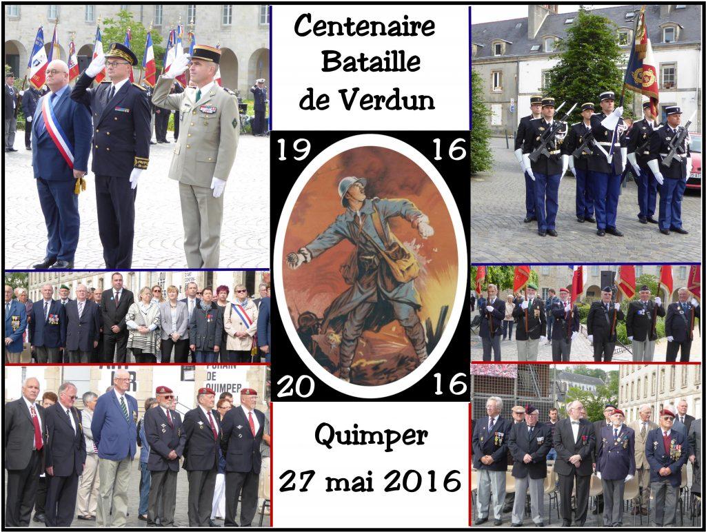 Centenaire bataille de Verdun à Quimper 2016