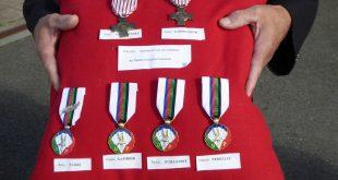 Remise de médailles à la Saint-Michel 2016