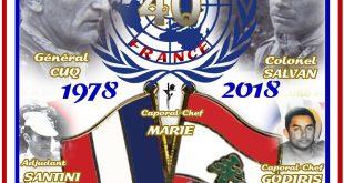 Liban : 40 ans de présence…