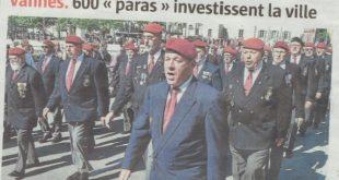 """Vannes, 600 """"paras"""" investissent la ville"""