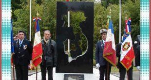 Hommage aux morts Indochine-Corée