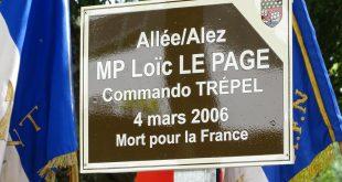 Allée MP Loïc Le Page à Lorient